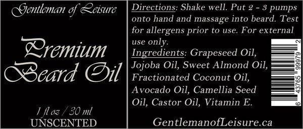 Gentleman of leisure label