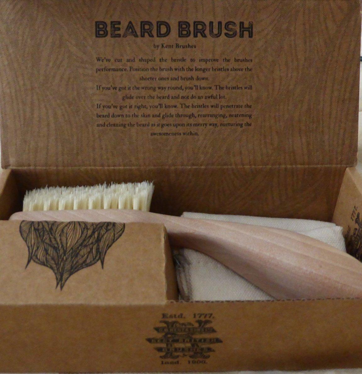 Kent beard brush