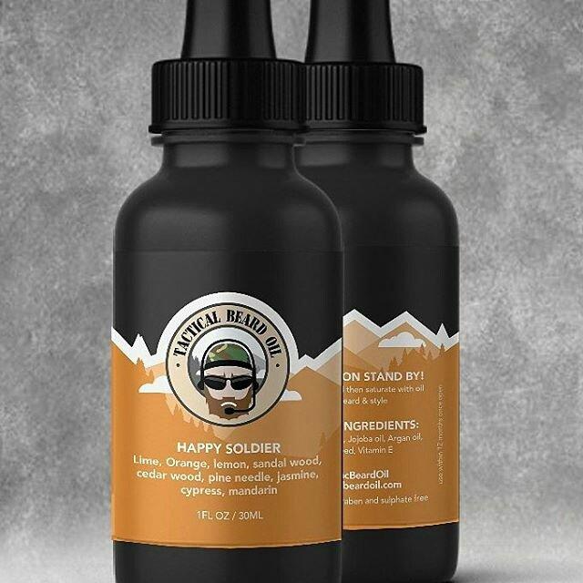 Tactical Beard Oil 'Happy Soldier' Beard Oil