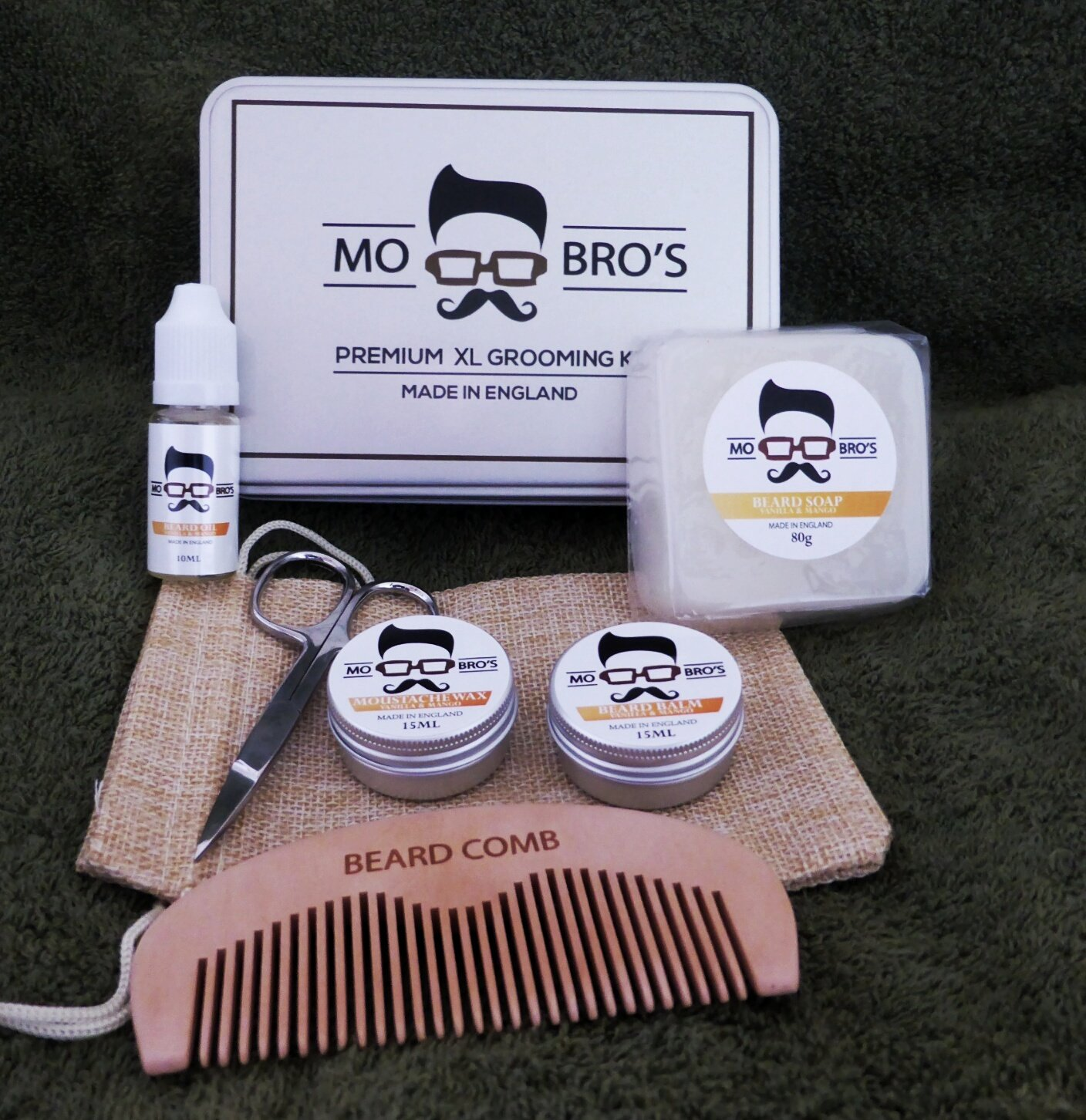 Mo Bro's XL Grooming Kit