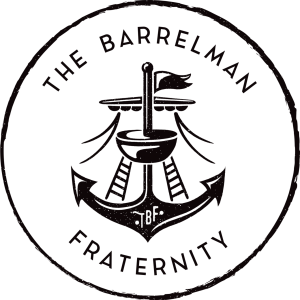 The Barrelman Fraternity logo