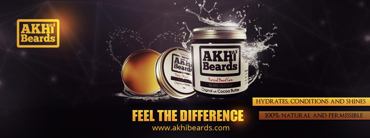 Akhi Beards banner