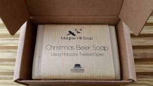 Magpie Hill Christmas Beer Soap