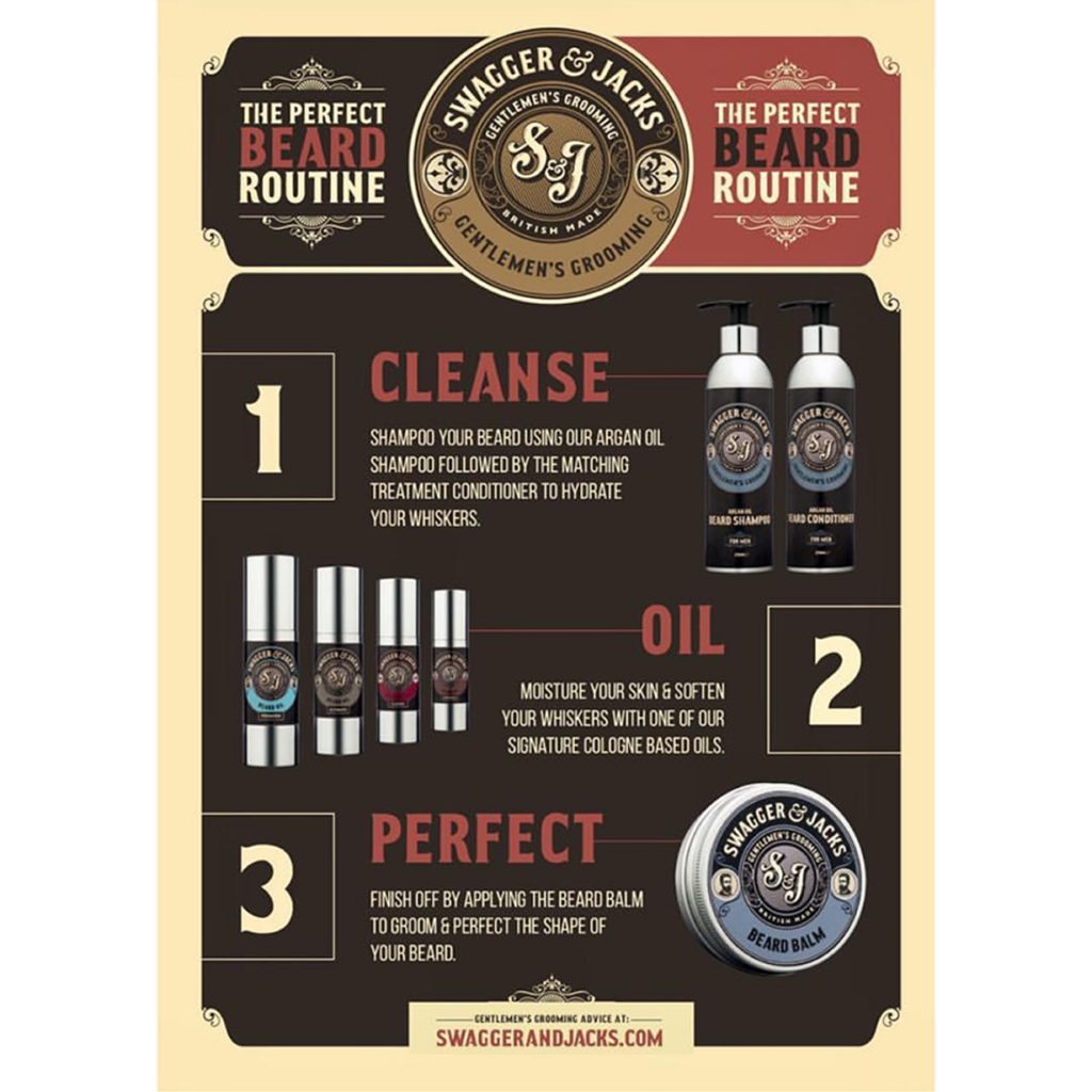 Beard care routine