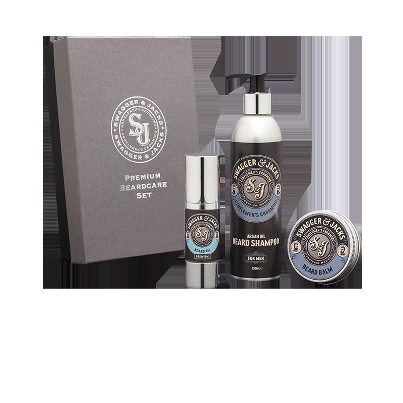 Swagger & Jacks premium beardcare gift box set