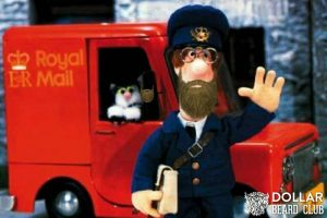 The bearded postman with sticky fingers!