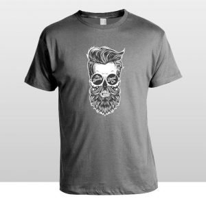 The Beardy Beard Co Skull Tee