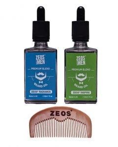 Zeos for men Beard oils