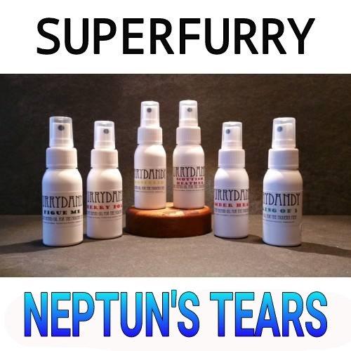 Superfurry FURRYDANDY Neptun's Tears Beard Oil