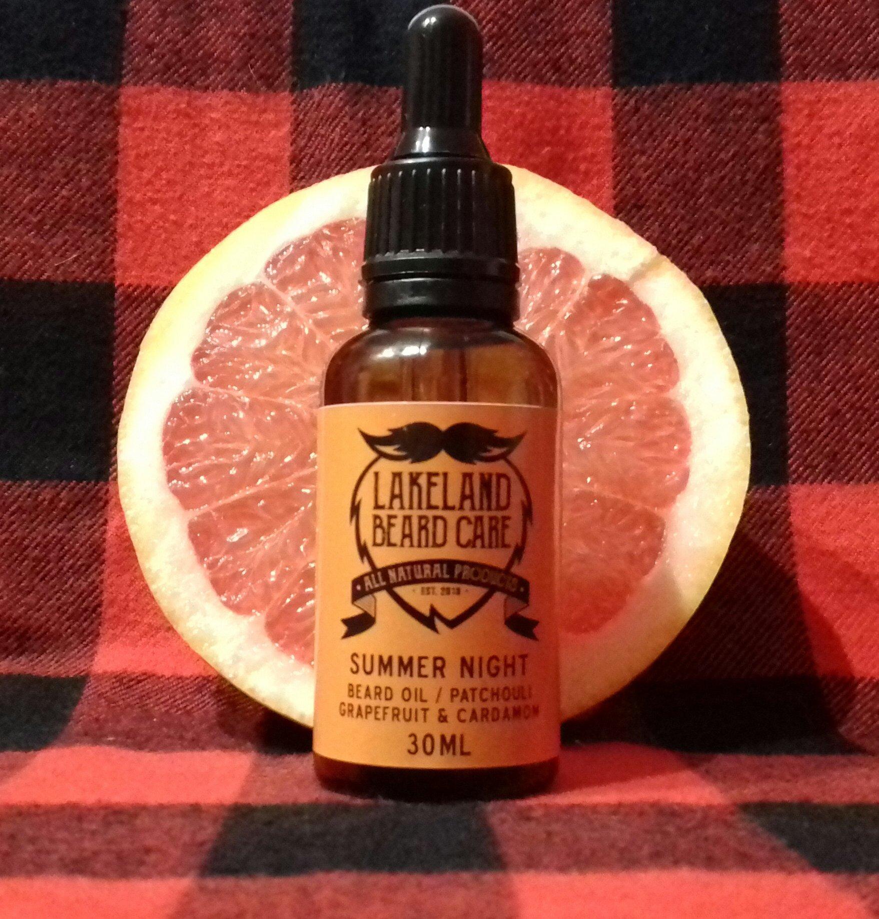 Review of the Lakeland Beard Care Summer Night Beard Oil