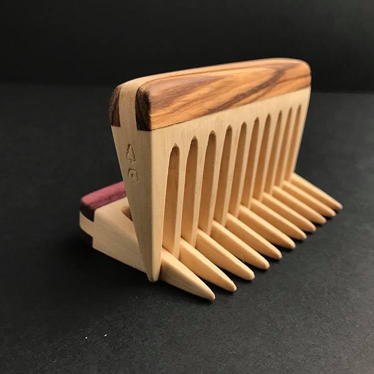 The Woodsman Knowles Beard Comb