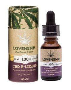 Love Hemp CBD e liquid