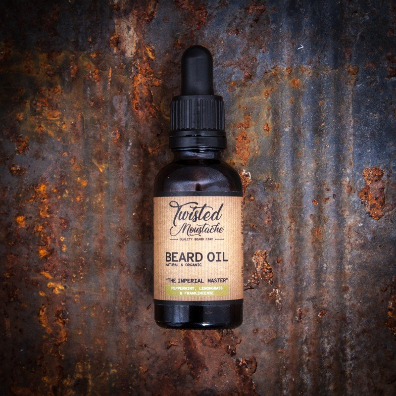 Review of the Twisted Moustache The Imperial Master Beard Oil