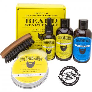 Golden Beards Big Sur Beard Starter Kit