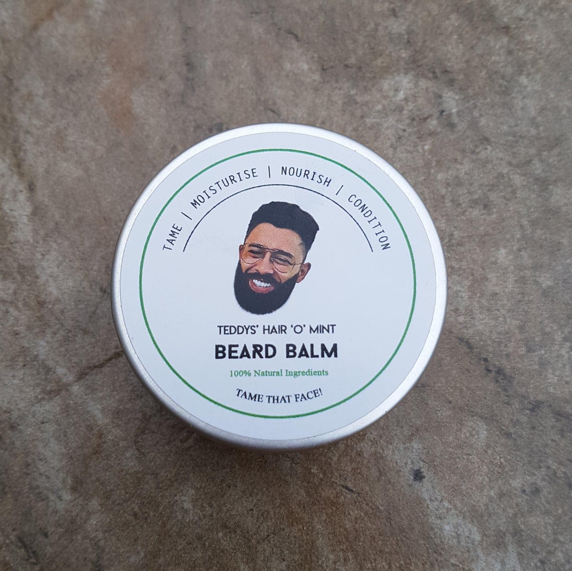 Review of the Teddy's Hair 'O' Mint Beard Balm
