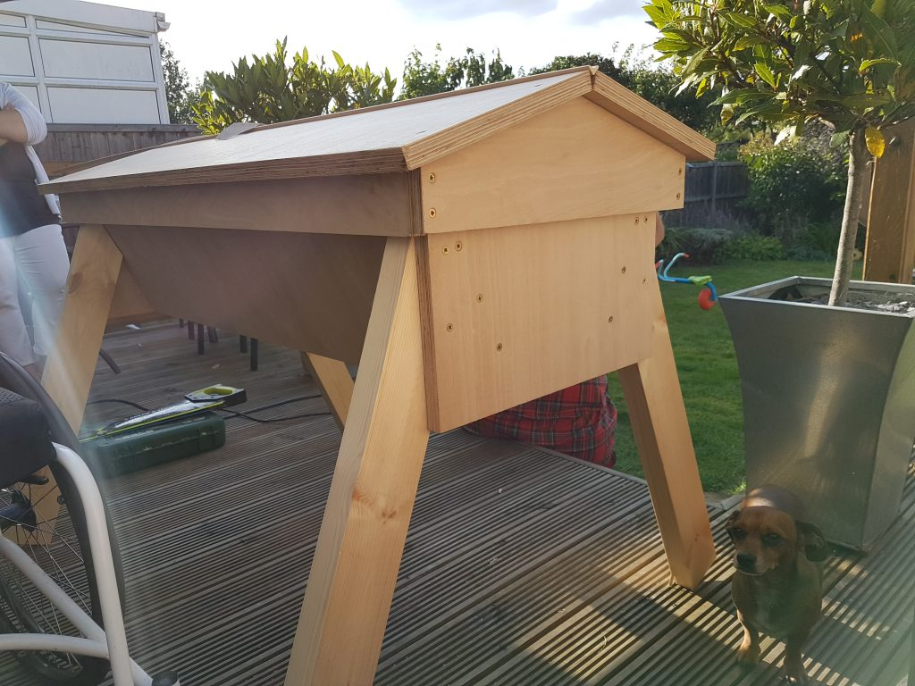 Top Bar Hive roof