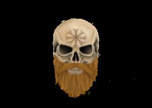 The Bald Viking Beard Company logo
