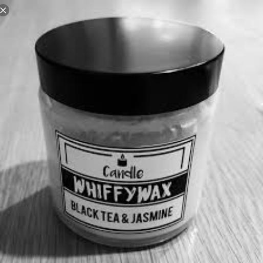 Whiffy Wax Black Tea & Jasmine Soy Wax Candle