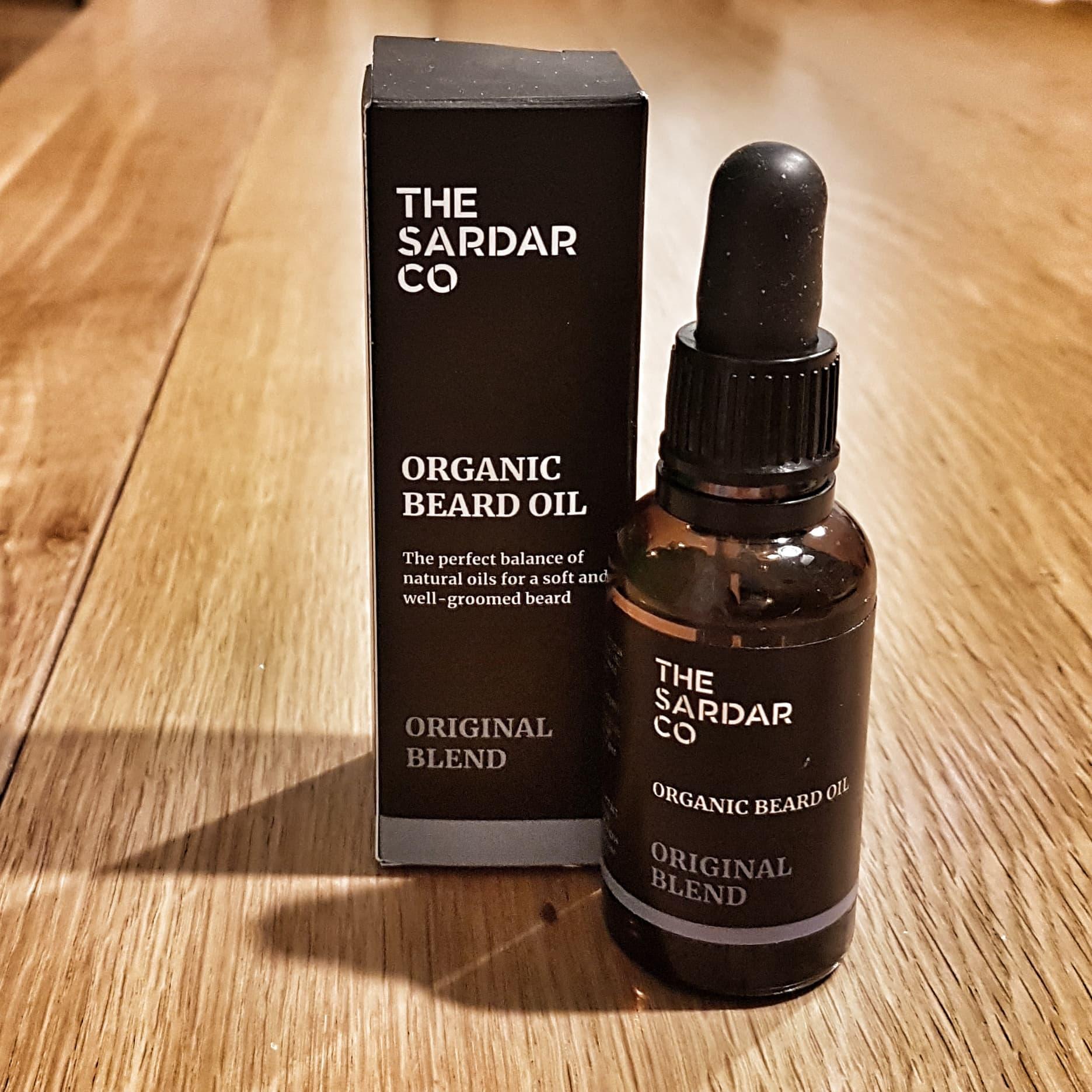 Review of The Sardar Co Original Blend Beard Oil