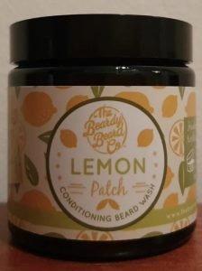 The Beardy Beard Co beard wash in the Lemon Patch scent