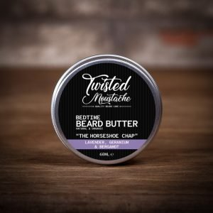 Twisted Moustache The Horseshoe Chap Bedtime Beard Butter