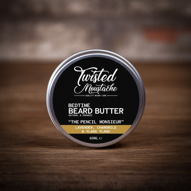 Twisted Moustache The Pencil Monsieur Bedtime Beard Butter