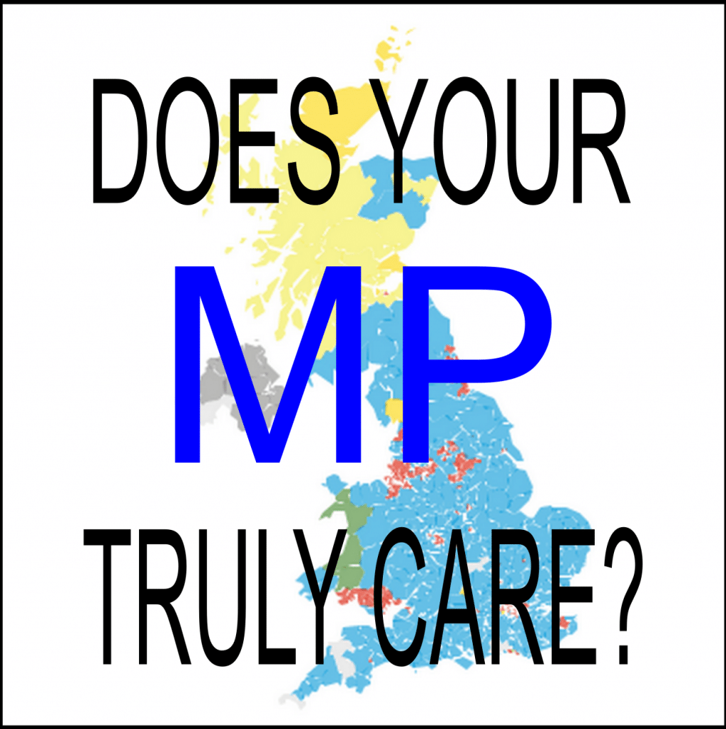 Does your MP truly care about disabled constituents?