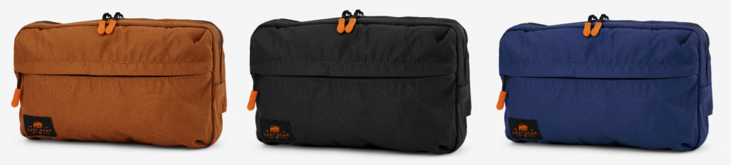 The Lazy Bear Lannie Black Foldable Bum Bag from TrendHim