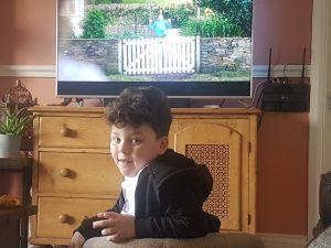 5 year old grandson