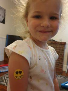 The Mosquito Company repellent stickers