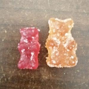 Vegan vs normal CBD Gummy Bears